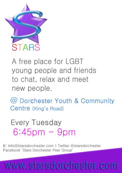 Stars Peer Support Group Poster
