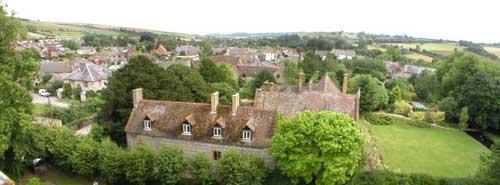 Panorama of Maiden Newton