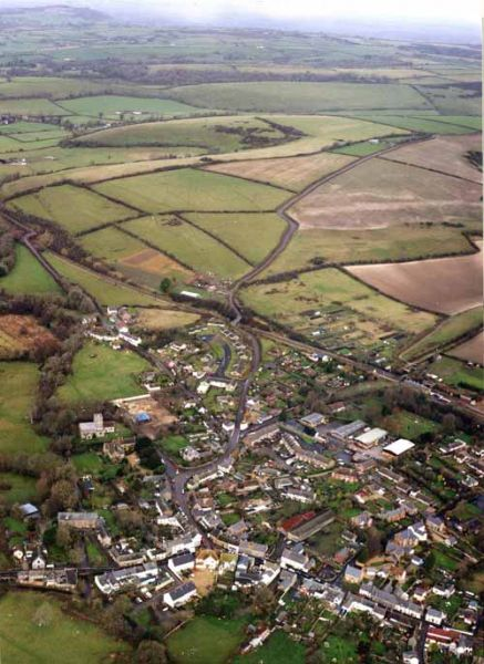 aerial view of maiden newton