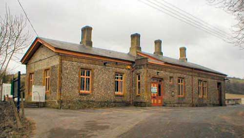 maiden newton railway station building